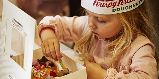 School Holiday Doughnut Decorating @ Krispy Kreme (Port Road)