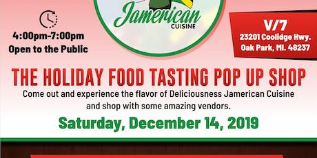 The Holiday Food Tasting Pop up Shop tickets