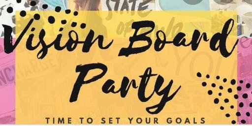 2nd Annual Vision Board Party