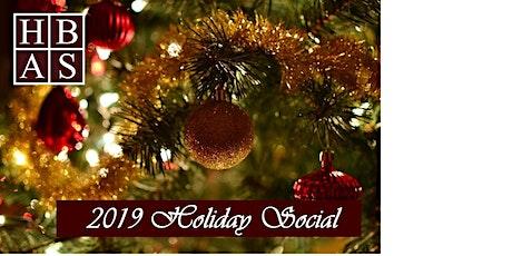 HBAS 2019 Holiday Social tickets