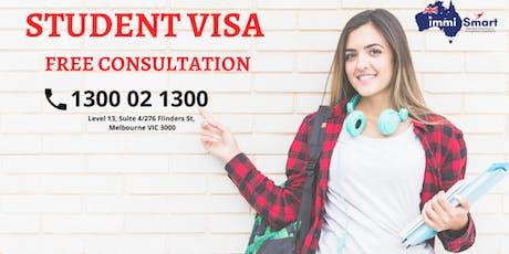 Student Visa - Free Consultation!!!!!!!!!! tickets