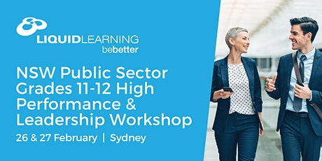 NSW Public Sector Grades 11-12 High Performance & Leadership Workshop tickets