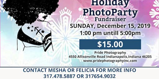 It's A Holiday Photo Shoot Party