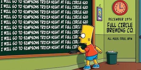 Simpsons Trivia Night tickets