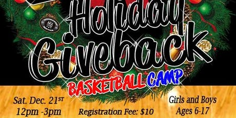 """25INCFoundation 2nd Annual Giveback """"Basketball Camp"""" tickets"""