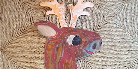 Giant Decorated Reindeer Cut Outs tickets