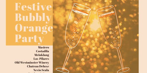 Bubbly Orange Wine Festivities