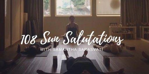 New Year Yoga- 108 Sun Salutations
