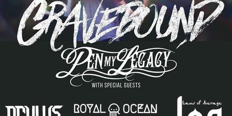 Gravebound//Pen My Legacy//& More tickets