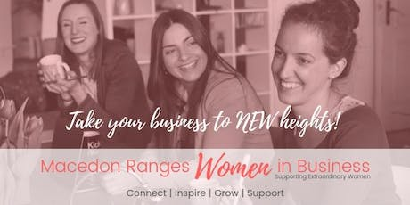 Macedon Ranges Women In Business Networking Meeting May 2020 tickets