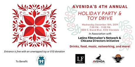 Avenida's 4th Annual Holiday Party tickets