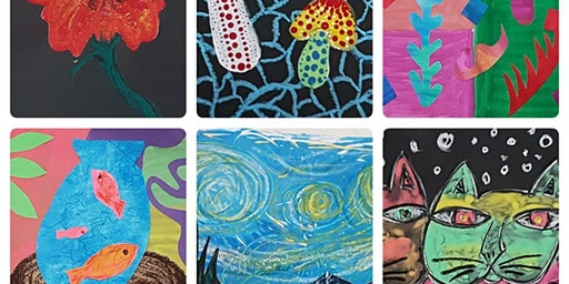 Specialised Kids Art Appreciation Workshops 20-24th January, 2020