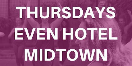 Wine Down Drunk Yoga ® at EVEN Hotel Midtown tickets