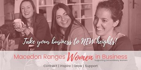 Macedon Ranges Women In Business Networking Meeting June 2020 tickets