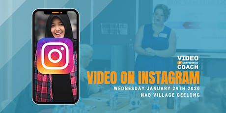 Video On Instagram (Instagram for Business Workshop) tickets