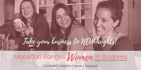 Macedon Ranges Women In Business Networking Meeting September 2020 tickets