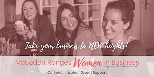 Macedon Ranges Women In Business Networking Meeting October 2020