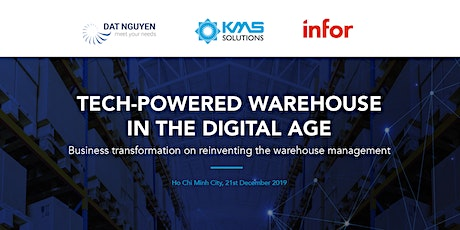 Tech-powered Warehouse in the Digital Age tickets