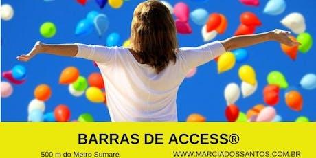 Curso Barras de Access® 23/12, com Marcia dos Santos ingressos