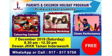 HOW TO MAKE SCHOOL HOLIDAY MEANINGFUL tickets