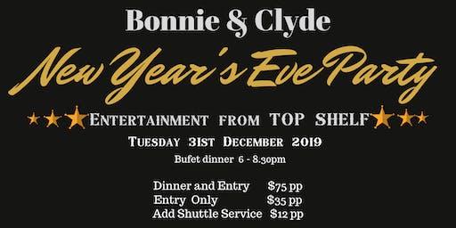 Bonnie & Clyde Gangsta Night NYE 2019