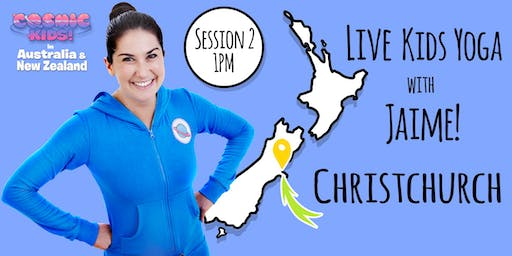 EXTRA CLASS ADDED!! Live Kids Yoga with Jaime in Christchurch