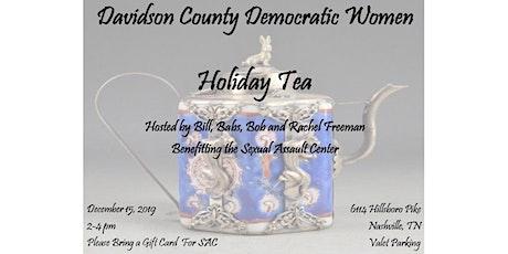 Davidson County Democratic Women Holiday Tea tickets