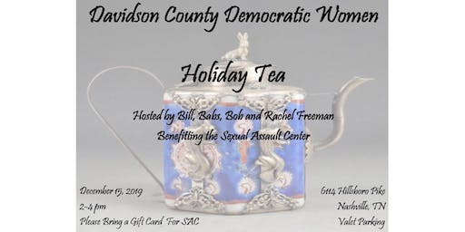 Davidson County Democratic Women Holiday Tea
