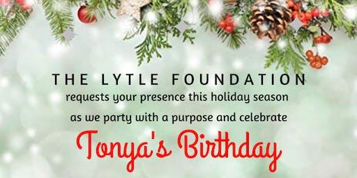 "TONYA'S BIRTHDAY | ""HOLIDAY PARTY OF THE YEAR"" | 12/21/19 AT 8PM"
