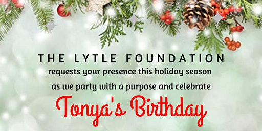 "TONYA'S BIRTHDAY | ""HOLIDAY PARTY OF THE YEAR"" 