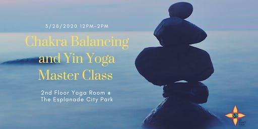 Chakra Balancing and Yin Yoga Master Class