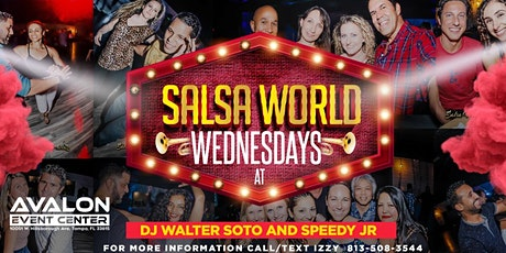 Salsa World Wednesdays Latin Night at Avalon tickets