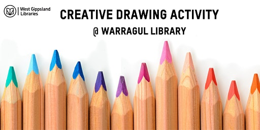 Creative Drawing School Holiday Activity @ Warragul Library