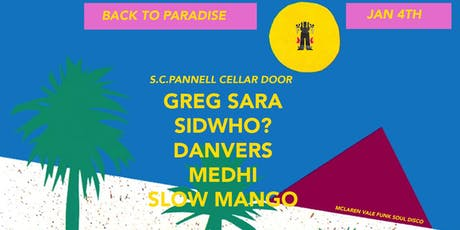 BACK TO PARADISE tickets