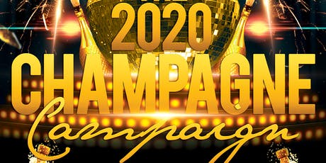 The 2020 Champagne Campaign tickets