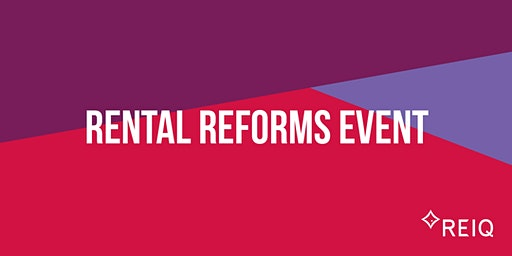 Rental Reforms Event