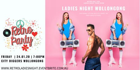 RETRO 80'S 90'S LADIES NIGHT tickets