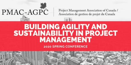 Building Agility and Sustainability in Project Management: March 2, 2020 tickets
