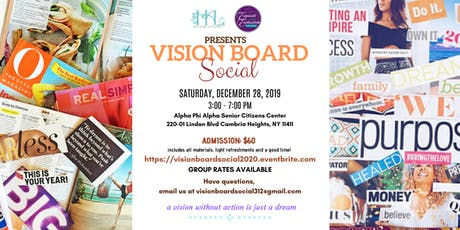 Hilaire Affairs + Exquisite and Enchanted Vision Board Social  tickets