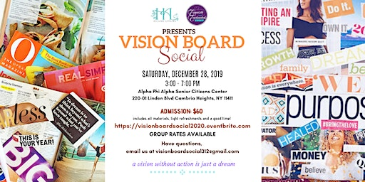 Hilaire Affairs + Exquisite and Enchanted Vision Board Social