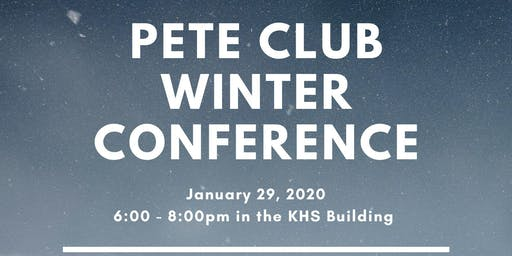 PETE Club Winter Conference