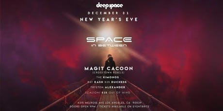 Space in Between: New Years Eve w/10 big name dj's, 3 rooms, 5 bars & more! tickets