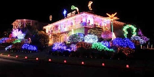 Xmas Lights and Santa at Uncle Billy's