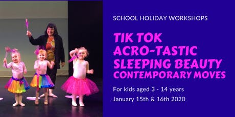 School Holidays Dance Workshops tickets