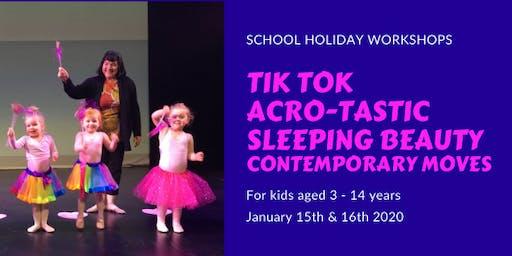 School Holidays Dance Workshops