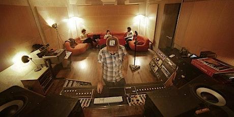 MASTERCLASS de Música y sonido con Karim Burkhalter  entradas