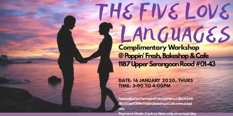 The Five Love Languages @ Poppin' Fresh tickets