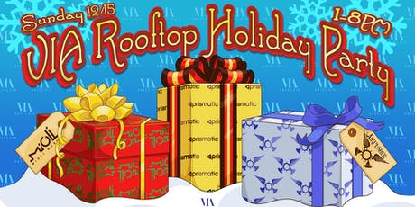 Via Rooftop Holiday Party w/ Airpusher, Mioli + Prismatic tickets