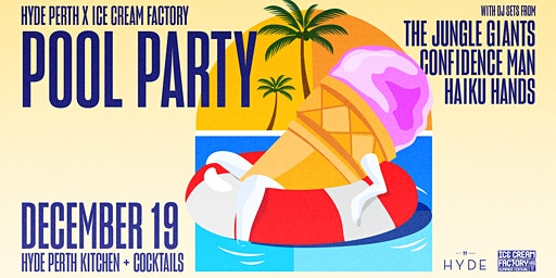 Hyde Perth x ICF Pool Party