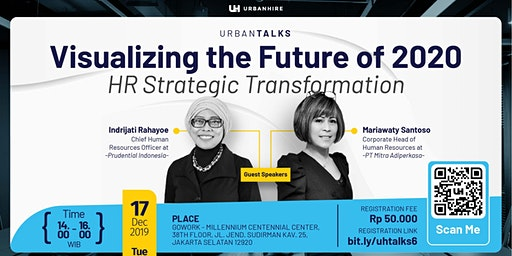"[PAID HR EVENT] UrbanTalks ""Visualizing the Future of 2020"""